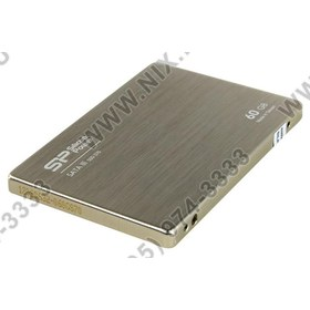 "SSD 60 Gb SATA 6Gb/s Silicon Power Slim S70 [SP060GBSS3S70S25] 2.5"" MLC"