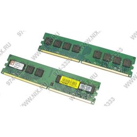 Kingston ValueRAM [KVR800D2N6K2/2G] DDR-II DIMM 2Gb KIT 2*1Gb [PC2-6400] CL6