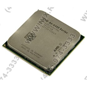 CPU AMD A6-6400K     (AD640KO) 3.9 GHz/2core/SVGA  RADEON HD 8470D/ 1 Мб/65 Вт/5 ГТ/с  Socket FM2